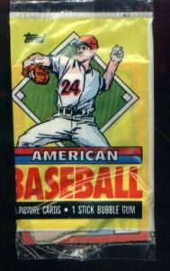 1989 topps american baseball picture cards packs