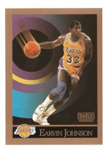 1990 91 Earvin Magic Johnson Skybox Basketball Trading Card 138