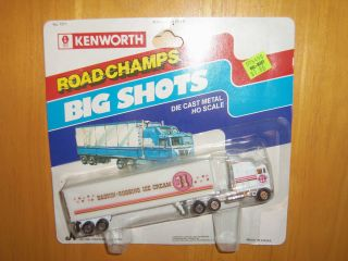 Champs Semi Truck Trailer Big Shots Baskin Robbins Ice Cream 31