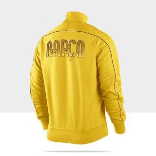 FC Barcelona Authentic N98 Mens Football Track Jacket