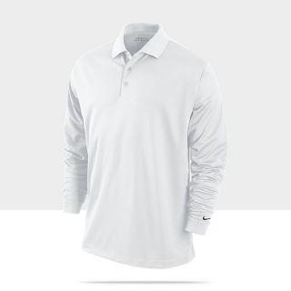 Nike Dri FIT Stretch Tech Long Sleeve Mens Golf Polo 381236_100_A