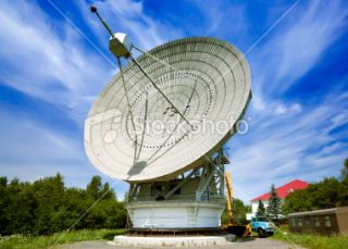 stock photo 13475217 radio telescope rt 22