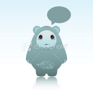 Cute sad ing ghost bear Royalty Free Stock Vector Art Illustration