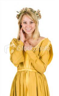 Moyen âge, Style renaissance, Costume de déguisement, Femmes