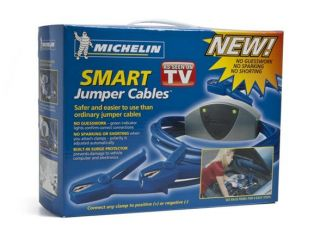 Michelin Smart Jumper Cables with Automatic Polarity Adjustment