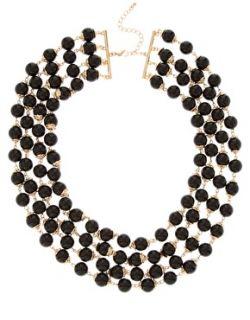 Pieces  Collar de varios hilos de perlas Faye de Pieces en