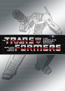 Transformers The Complete Series DVD, 2011, 15 Disc Set