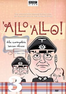 Allo Allo   The Complete Series Three DVD, 2005, 2 Disc Set