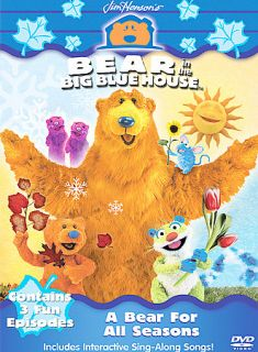 Bear in the Big Blue House   A Bear For All Seasons DVD, 2003