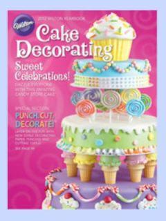 wilton 2012 yearbook english cake decorating desserts