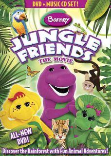 Barney: Jungle Friends (DVD, 2009, DVD/C