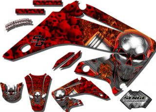 2008 2009 2010 2011 CRF 150 230 F GRAPHICS KIT HONDA CRF150F CRF230F