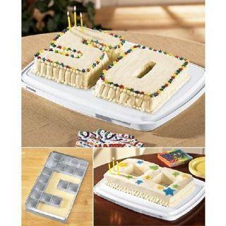 Alphabet Letter Number Educated Custom Birthday Cake Mold Aluminum