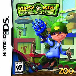Army Men Soldiers of Misfortune Nintendo DS, 2008