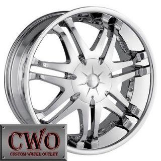 20 Chrome DIP Phantom Wheels Rims 5x139.7/6x139.7 5 Lug Dodge Ram