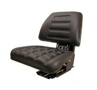 Black Universal Tractor Seat Massey Ferguson Ford / New Holland Case