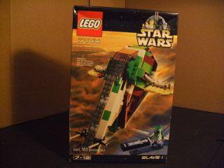 NEW Sealed Lego Star Wars Slave 1 One Original 7144 Set NIB 165 Pieces