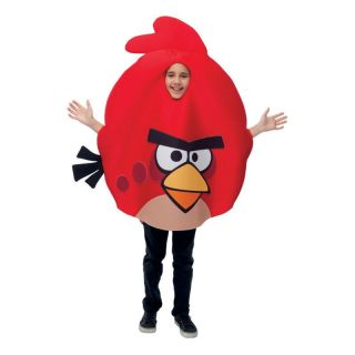red bird child costume one size fits most angry birds new