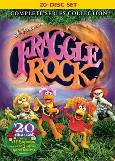 Fraggle Rock Complete Series Collection DVD, 2009, 20 Disc Set