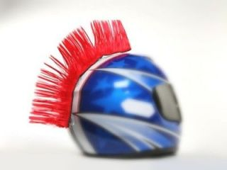 Hairy Rs Motorcycle Ski Bike Helmet Mohican Mohawk 8 different colours