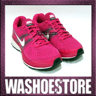 Nike Wmns Air Pegasus 29 FireBerry Vivid Pink White 524981 610 UK 3.5