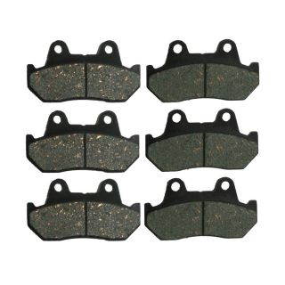 Front + Rear Carbon Kevlar Brake Pads   1983 Honda CB 1000 C Custom