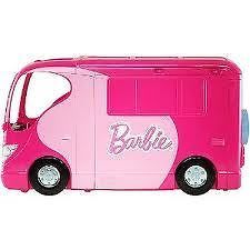 Barbie Sisters go camping IN STOCK AUST camper van playset dollhouse