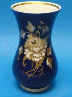 mid century gdr wallendorf echt kobalt cobalt blue vase time