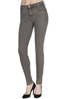 Brand Womens 620 Vin Olive Green Gray Mid Rise Super Skinny Jeans