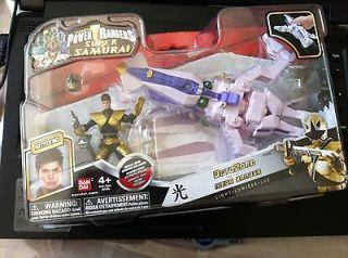2012 NEW Power Rangers Samurai OCTOZORD LIGHT Gold Ranger SEALED