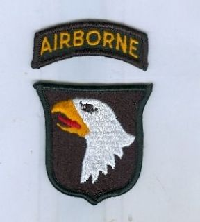 101 airborne patch in WW II (1939 45)