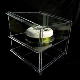Newly listed NEW ACRYLIC CUPCAKE SNEEZE GUARD DISPLAY CABINET STAND