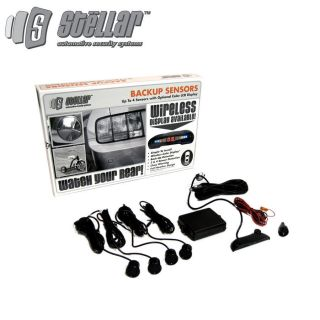 back up sensor system deluxe kit chevy ford dodge truck