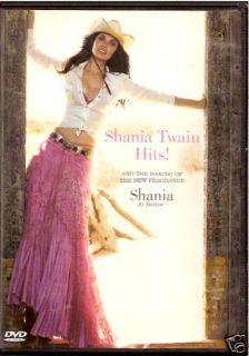 Shania Twain Hits! Stetson Perfume Promo (DVD) NEW *OOP RARE*