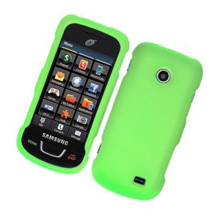 Green   Straight Talk Samsung SGH T528G Protective Phone Cover Hard