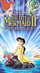 Little Mermaid II, The Return to the Sea VHS, 2000