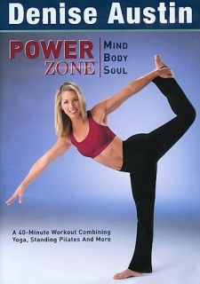 Denise Austin   Power Zone Mind Body Soul DVD, 2003