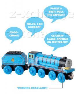 usa talking light gordon thomas wooden train new time left