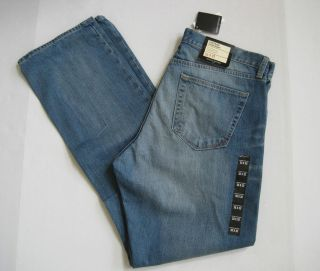 BANANA REPUBLIC Mens Vintage Straight Light Wash Jeans Sizes 29 38