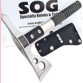 SOG Knives Fasthawk Tactical Tomahawk/Hatchet/Axe/Ax Spike Fast Hawk