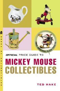 Mickey Mouse Collectibles by Ted Hake 2008, UK Paperback, Large Type