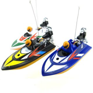 radio remote control rc mini micro racing speed boat from