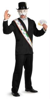 ADULT HASBRO MONOPOLY GAME MAN DELUXE COSTUME DRESS DG16818D