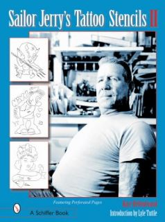 Sailor Jerrys Tattoo Stencils II by Kate Hellenbrand 2002, Paperback