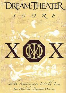 Dream Theater   Score 20th Anniversary World Tour DVD, 2006, 2 Disc
