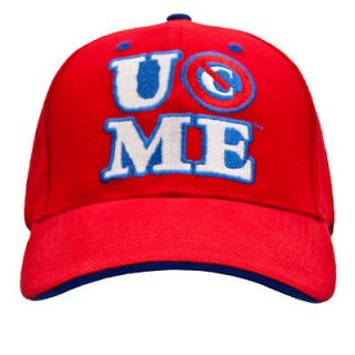 wwe john cena persevere baseball cap red official new from