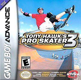 Tony Hawks Pro Skater 3 Nintendo Game Boy Advance, 2002