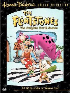 The Flintstones   The Complete Fourth Season DVD, 2005, 4 Disc Set