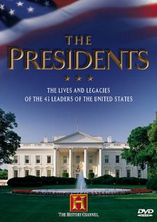 The Presidents DVD, 2012, 4 Disc Set