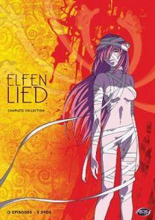 Elfen Lied Complete Collection DVD, 2011, 3 Disc Set